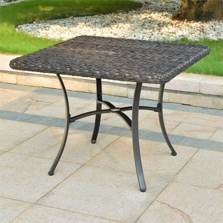 International Caravan Pandan Aluminum Patio Dining Table