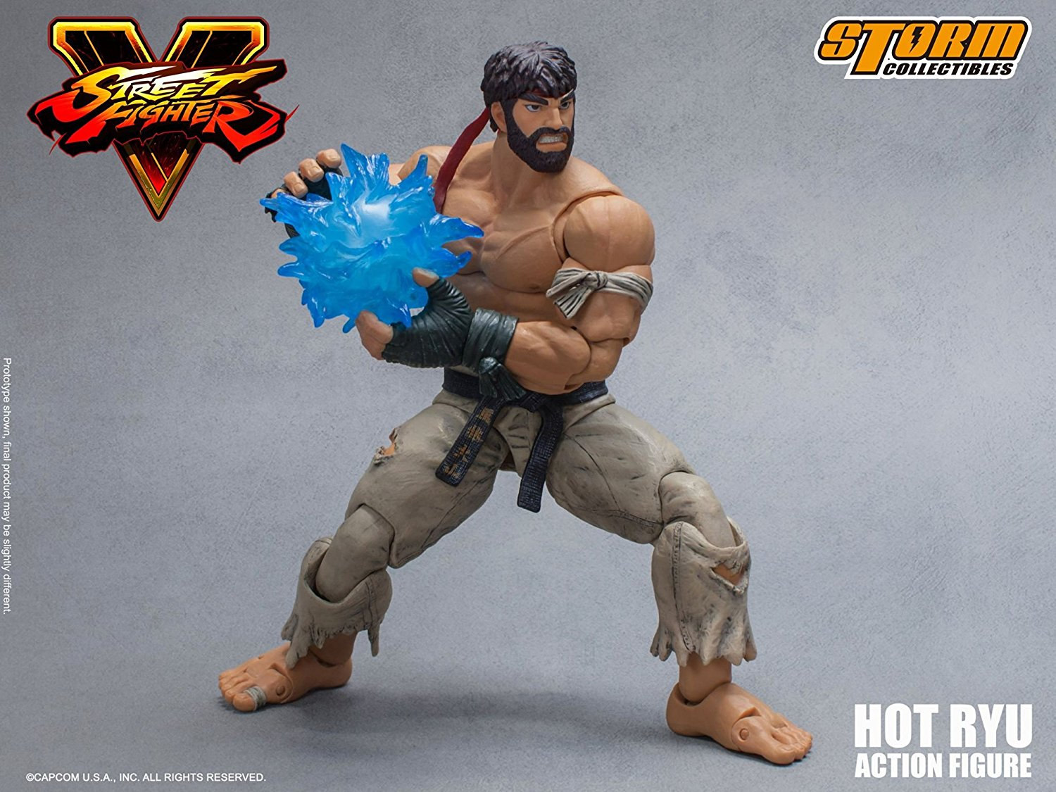 New High Quality Capcom Street Fighter IV Ryu Action Figure Boxed Gifts