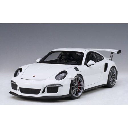 Porsche 928s4 - Porsche 911 (991) GT3 RS White with Dark Grey Wheels 1/18 Model Car by Autoart