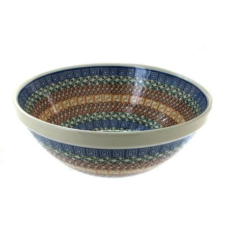 Polish Pottery Athena Medium Serving Bowl
