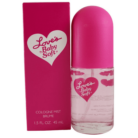 Dana Love's Baby Soft Body Mist for Women, 1.5 Oz + Schick Slim Twin ST for Dry Skin - Loves Baby Soft Fragrance