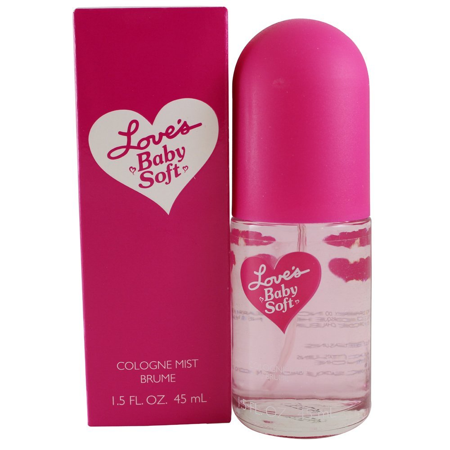 Dana Love's Baby Soft Body Mist for Women, 1.5 Oz + Schick Slim Twin ST for Sensitive Skin - Loves Baby Soft Fragrance