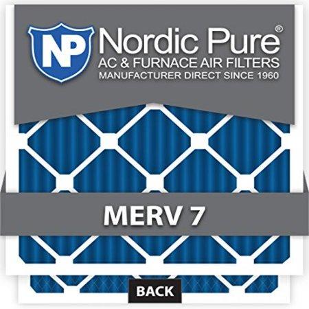 12x16x1 MERV 7 AC Furnace Filters Qty 12
