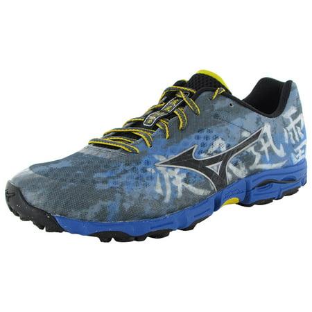(Mizuno Mens Wave Hayate Lace Up Running Sneaker Shoes)