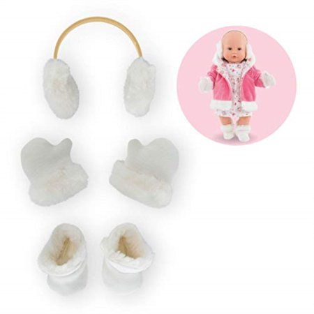 corolle mon grand poupon winter accessories set toy baby doll (Baby Corolle)