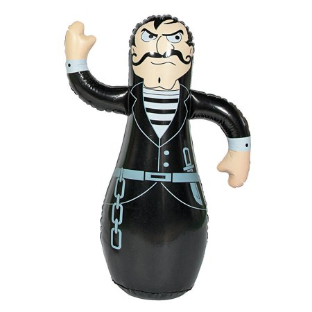 Fun Express - Inflate Villain Punching Character - Toys - Inflates - Inflatable Characters - 1 Piece - Punching Toys Inflatable
