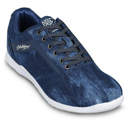 KR Strikeforce Womens Nova Lite Bowling Shoes- Denim Sparkle 6