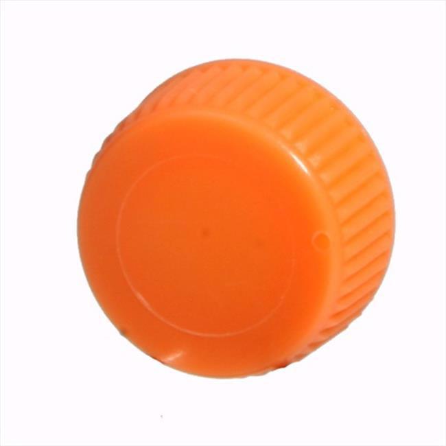 Bio Plas 4221R Screw Cap With O-Ring for Bio Plas Screw Cap MCT - 1000 pk - Orange