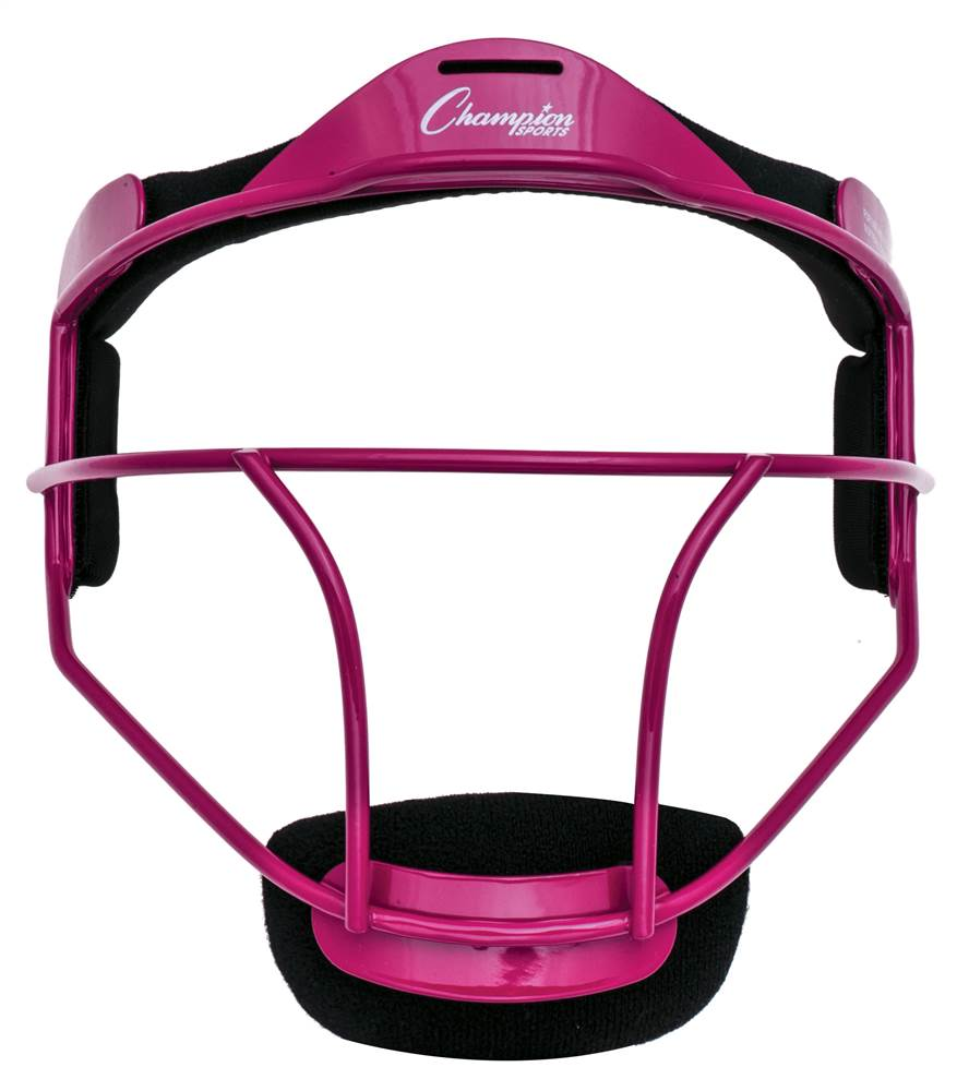 Fielder's Face Mask in Pink by Champion Sports