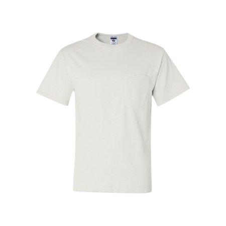 Jerzees Pocket - 29MPR Jerzees T-Shirts Dri-Power? 50/50 T-Shirt with a Pocket
