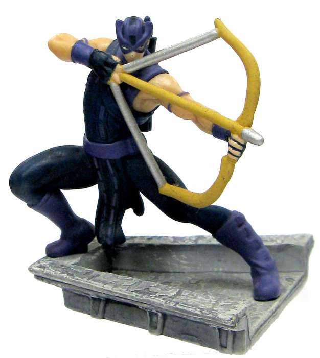 Marvel Avengers Hawkeye PVC Figure [Comic Version]