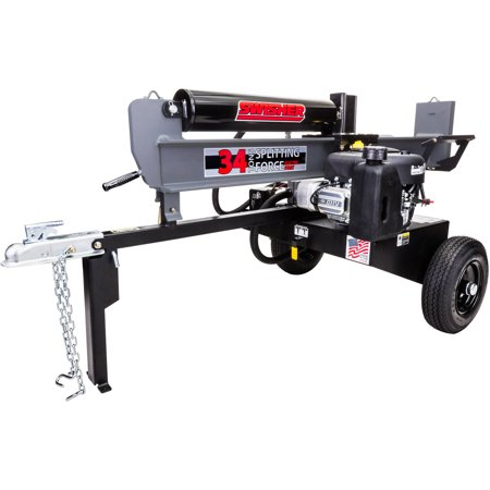 Swisher 11.5 HP 34-Ton 12V/Recoil Cold-Weather Clutch Log Splitter