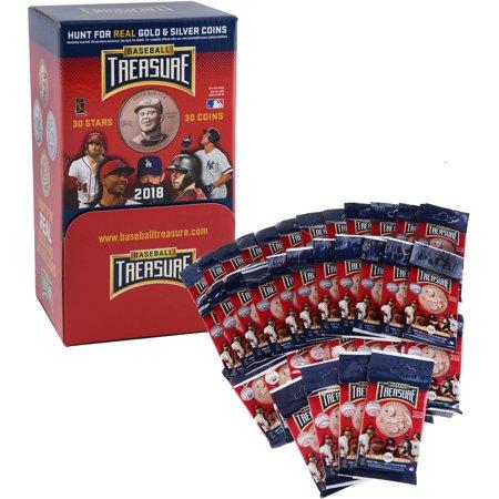 - Baseball Treasure 2018 Collectible Baseball Trading Coins 36 Pack Box