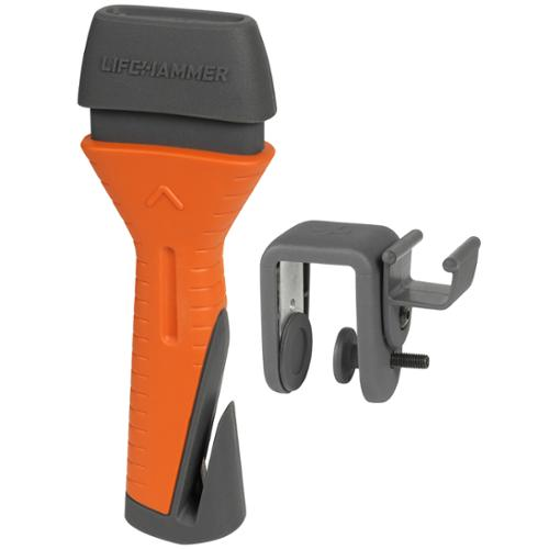 LifeHammer Orange Safety Hammer Evolution Emergency Automatic Auto Escape Tool