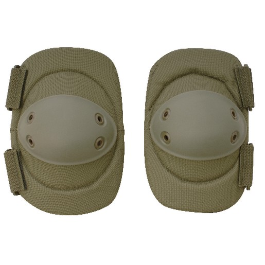 5ive Star Gear 5952000 Tactical Elbow Pads Rubber Non Slip Caps OD Green