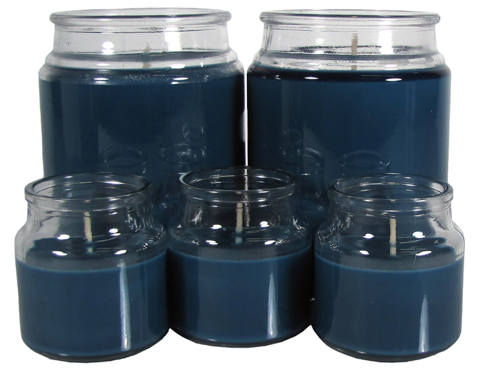 Mainstays Candle Jar Set, Peaceful Waters, 5 pieces by Candle-lite