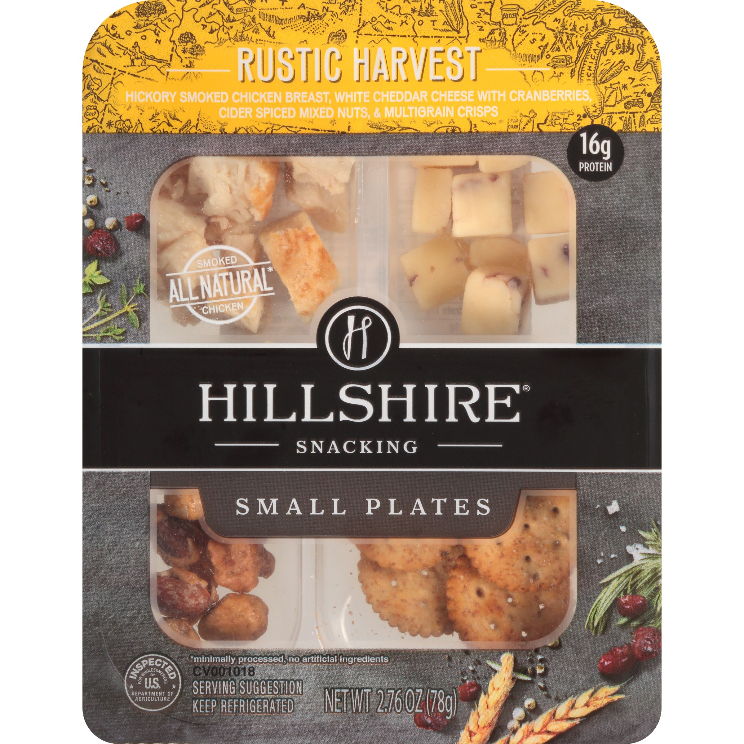 Hillshire Snacking Small Plates Rustic Harvest, 2.76 Oz.