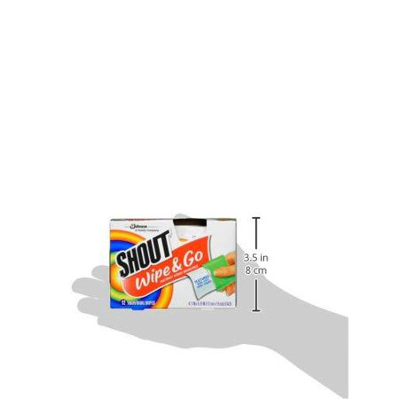 Shout Wipe And Go Instant Stain Remover For On The Go Laundry Stains 12 Count Pack Of 6 72 Total Wipes 72 Wipes Walmart Canada