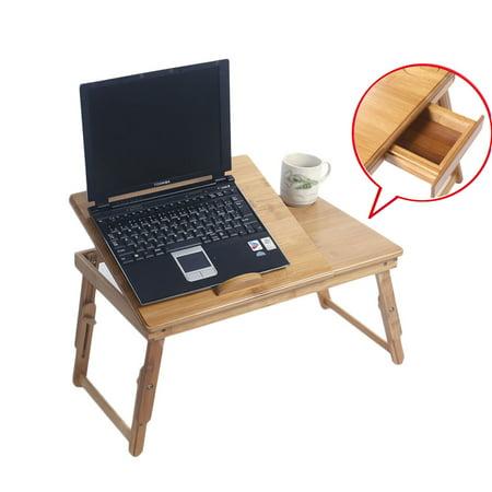 Adjustable Laptop Bed Table Portable Standing Desk