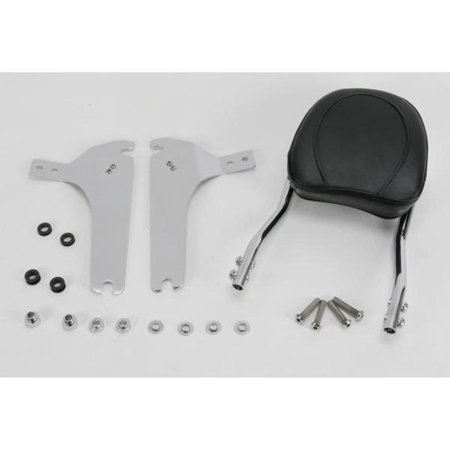 Jardine 34-5209-01 Complete Touring Steel Backrest and Mounting Kit with 8in x 8in Pad