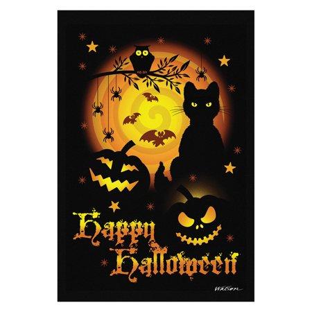 Toland Home Garden Scary Halloween Flag for $<!---->