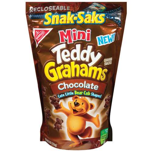 Kraft: Graham Teddy Grahams Chocolate Snacks, 8 oz