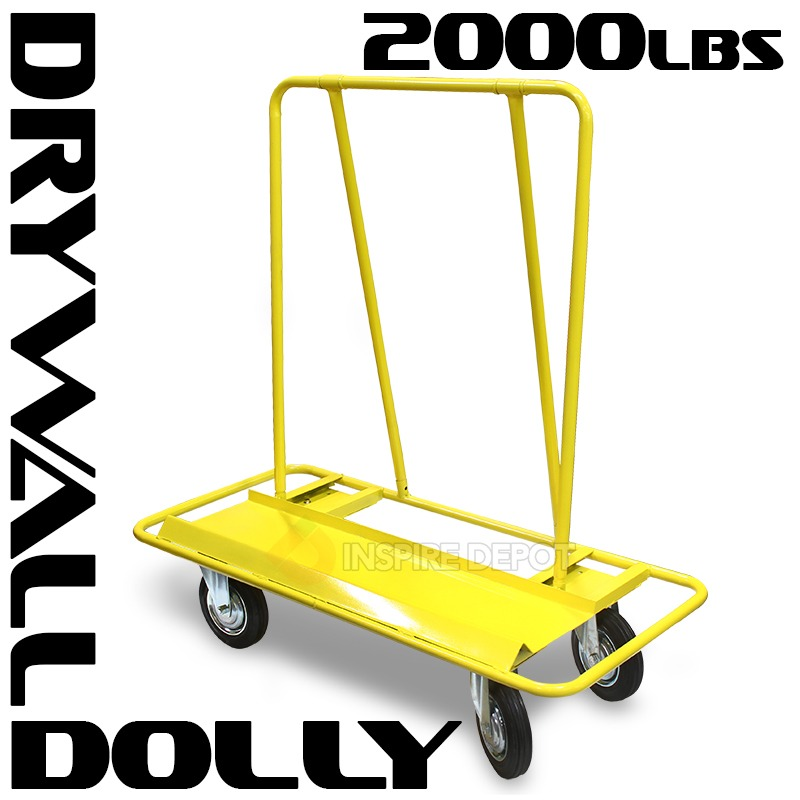 2000LB Drywall Dolly Moving Cart Hand Truck