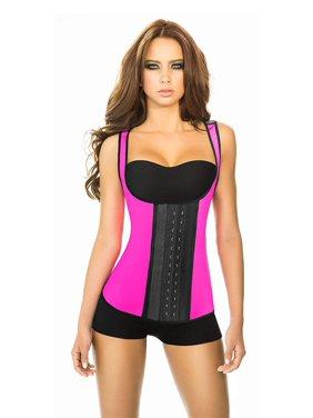 120463f6be Product Image Ann Chery Womens 3 Hooks Body Shaper Latex Sport Vest  Shapewear
