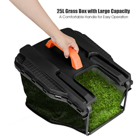 14-Inch 12Amp Lawn Mower w/Folding Handle Electric Push Lawn Corded Mower Green - image 8 of 10