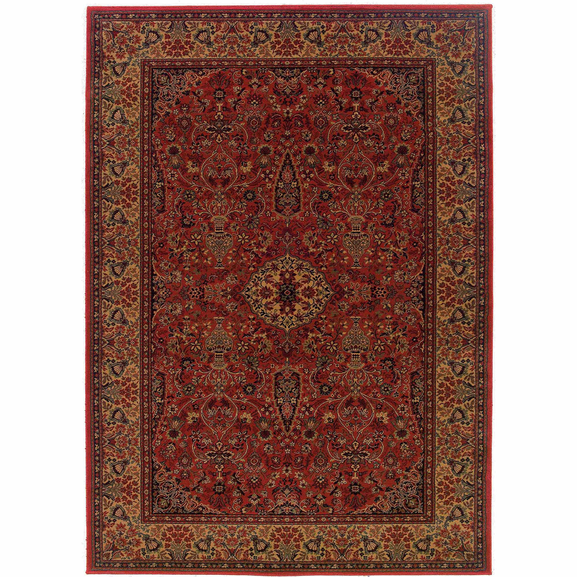 Couristan Everest Ardebil Rug, Crimson