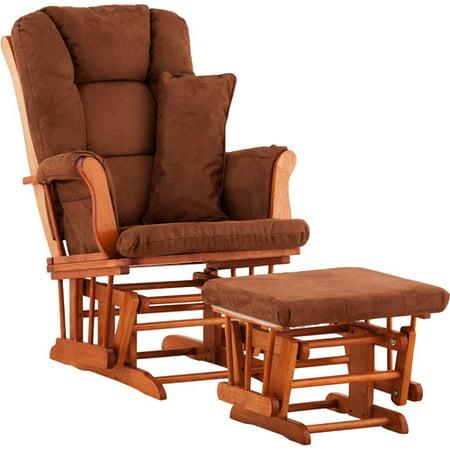 Storkcraft custom tuscany glider ottoman with bonus for Stork craft tuscany glider rocking chair ottoman