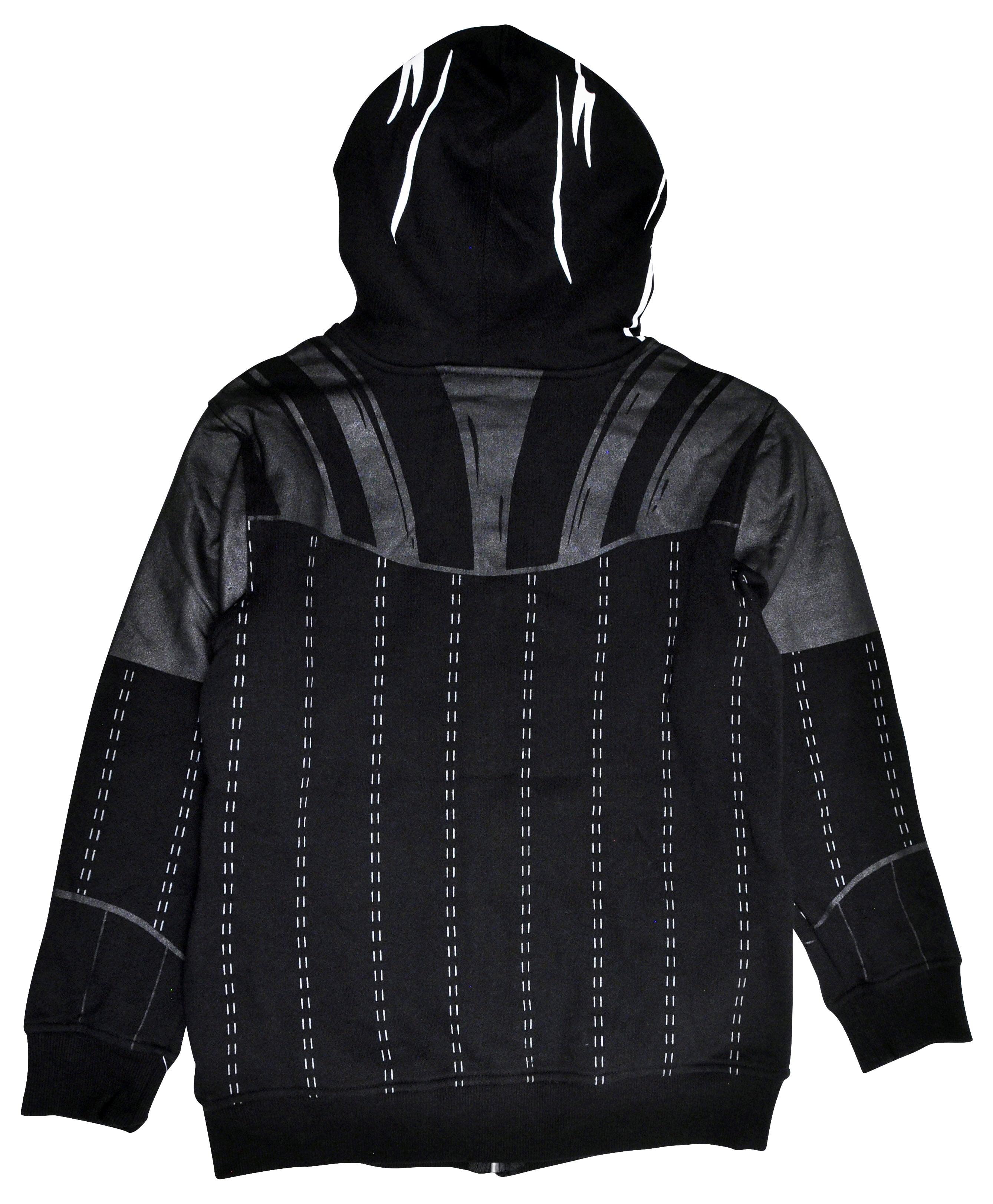 Black Sizes 8-22. Ladies Famous Make Lightweight Hooded Thermal Sweatshirt