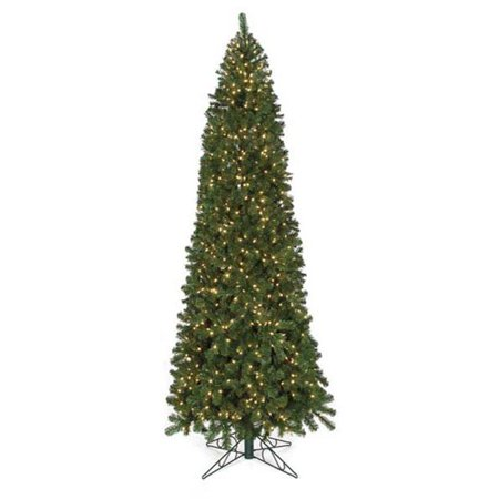 15 Ft Christmas Tree.C 2910 1 15 Ft Virginia Slim Tree No Lights 1 Green