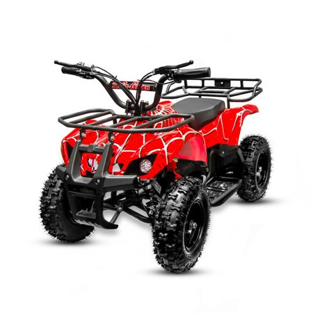 Electric Mini ATV Sonora on 350W 24V ( red (Metal Motorsports E Rivet Electric Mini Bike)