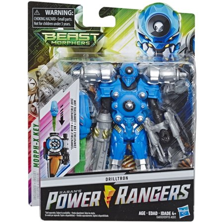 Power Ranger Colors (Power Rangers Beast Morphers Drilltron 6-inch Action Figure)