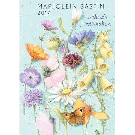 marjolein bastin 2017 monthly weekly planner calendar nature s