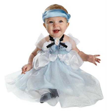 Costumes For All Occasions DG44970W Cinderella Infant 12-18 - Fairytale Couples Halloween Costumes
