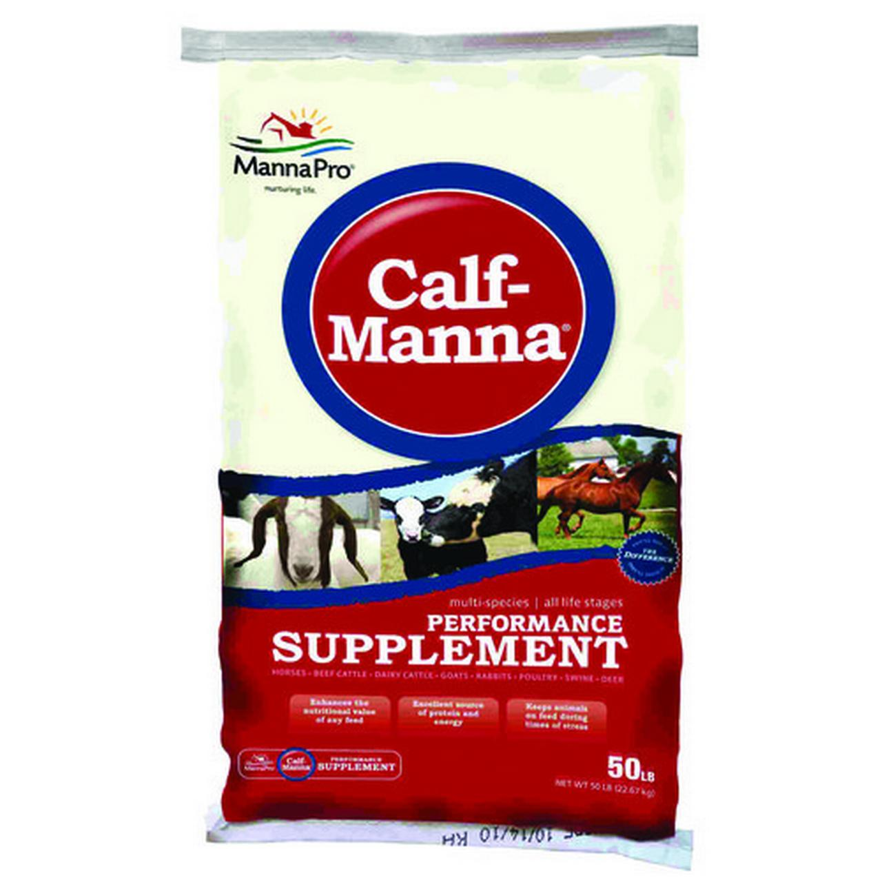 Manna Pro-farm-Calf Manna Performance Supplement 50 Pound