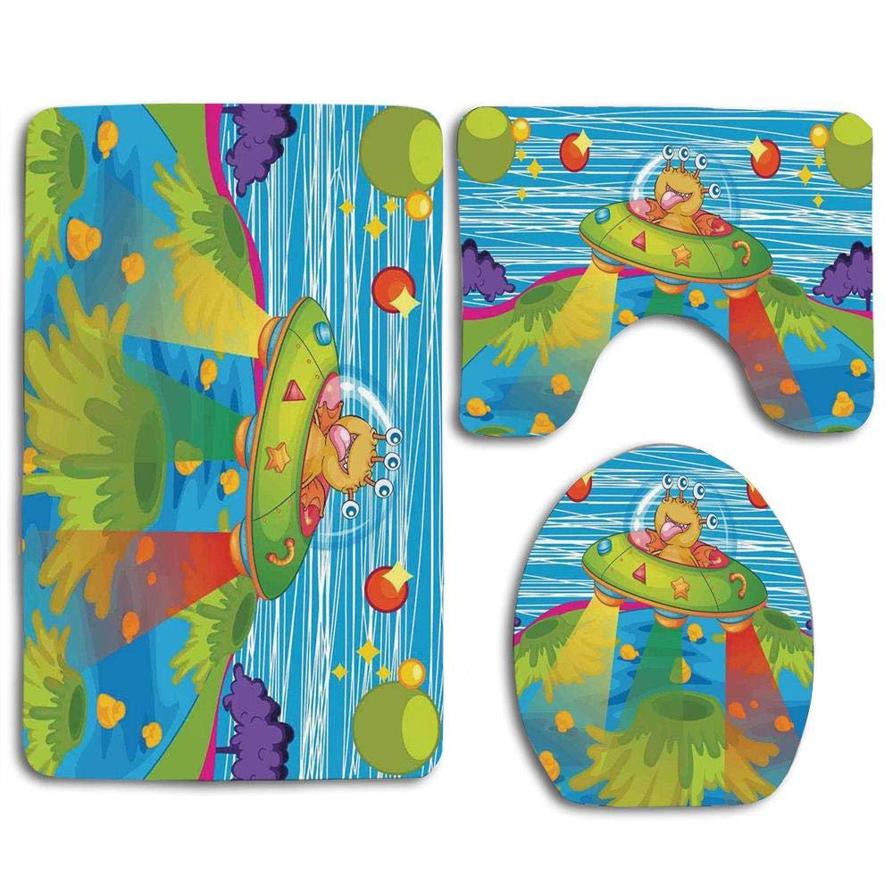 Outer E For Kids Scary Monster