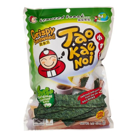 Tao Kae Noi Original Flavor Crispy Seaweed  1 41 Oz