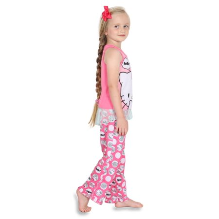 Hello Kitty Big Girls' 2pc Sleepwear Tank Set - image 2 of 4