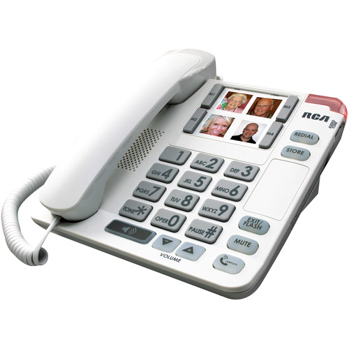 RCA Amplified Corded Telephone with Speakerphone