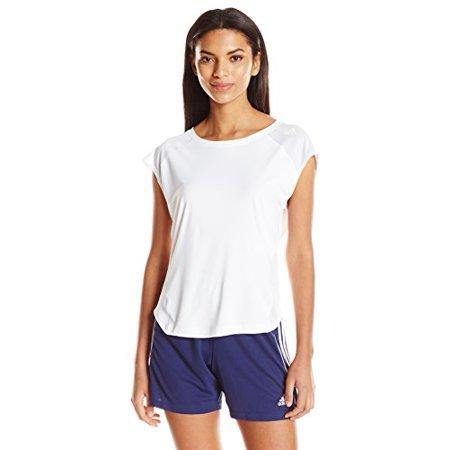 adidas Women's Running Tokyo Short Sleeve Tee, White, Large - image 1 of 1