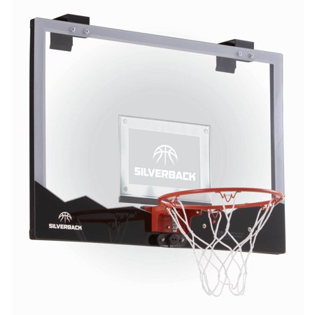 Silverback 23 Led Light Up Over The Door Mini Basketball Hoop Includes And Air Pump