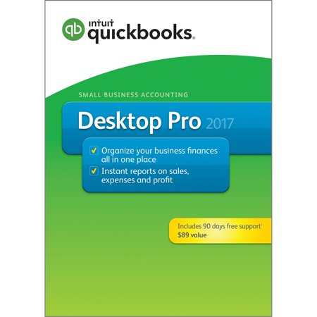 Intuit Quickbooks Desktop Pro 2017   90 Days Of Support