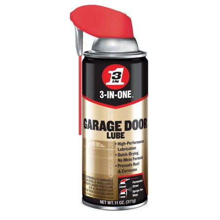 3INONE Garage Door Lube 11 Oz (Halloween Garage Door Silhouette)