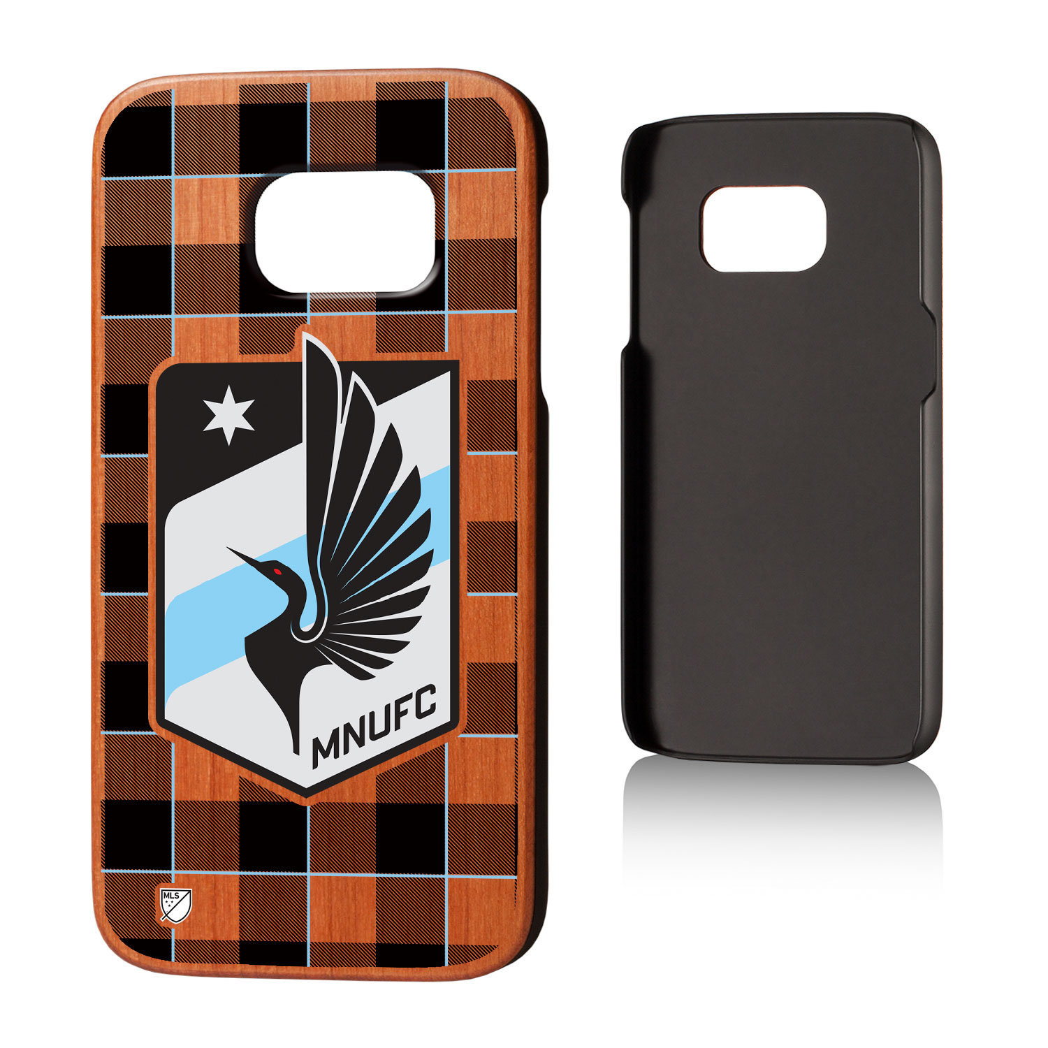 Minnesota United FC MNUFC Plaid Cherry Case for Galaxy S7