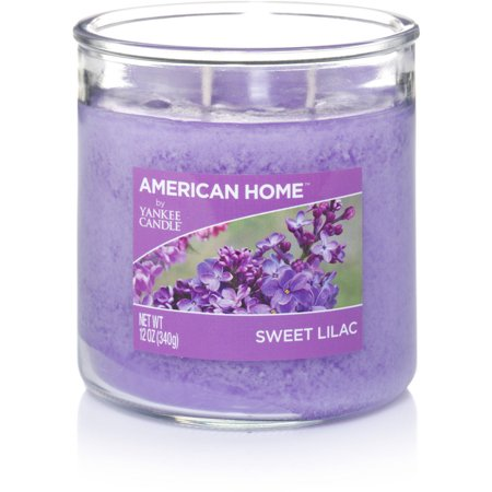 American Home By Yankee Candle Sweet Lilac Candle, 12 oz Medium 2-Wick Tumbler