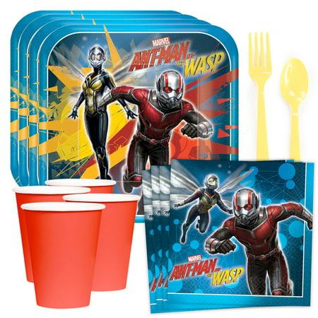 Marvel Ant Man & The Wasp Standard Tableware Kit (Serves 8)