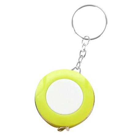 KABOER Modern Cute Candy Color Keychain Mini Tape Measure 1.5 Meters Portable Clothing Size Tape Measure Small Tape